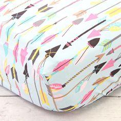 Crib Sheet | Tribal Girl Crib Bedding