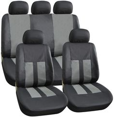 Interior Styling Streetwize Seat Cover Set Grey in Vehicle Parts & Accessories, Other Vehicle Parts & Accs, Other Vehicle Parts & Accs | eBay