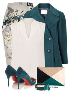 """Bez naslova #2933"" by martina-cciv ❤ liked on Polyvore featuring River Island, Windsmoor, Elie Tahari, Christian Louboutin, Sole Society, Marni and Kim Rogers"