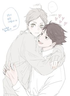 #oikawa #sugawara #hq