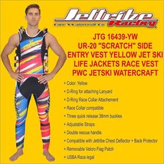 "Please visit www.jettribe.com to see more information regarding this product JTG 16439-YW UR-20 ""SCRATCH"" SIDE ENTRY VEST #jet ski goggles # helmet jet ski #jet ski apparel # jet ski clothes #jet ski clothing # jet ski cover kawasaki #jet ski cover sea doo #jet ski equipment #jet ski covers Yamaha #jet ski gear #jet ski helmets #jet ski life vest #jet ski pdf #jet ski shoes #jet ski wetsuits #jet ski covers #kawasaki jet ski covers #jet ski cover #kawasaki pwc cover #pwc apparel #pwc gear…"