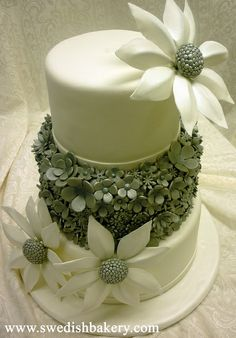 Floral Wedding Cake | Flickr - Photo Sharing!