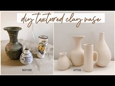 Painted Glass Vases, Painted Mason Jars, Dollar Store Crafts, Dollar Stores, Thrift Stores, Flower Vase Making, Love Decorations, Mason Jar Vases, Clay Vase