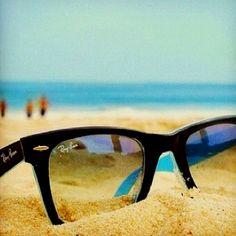 Ray bans beach