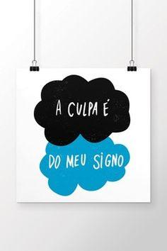 Poster A Culpa é do meu Signo
