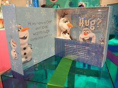 Disney's answer to Elf on The Shelf.  Frozen Hide & Hug Olaf   I've pre-ordered a few for Christmas already! ;) That's what a awesome Aunt & MIMI Like myself does! Whoo! Hoo!