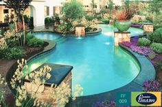 At Premier Pools Spas We Design Your Freeform Swimming Pool To Blend Into The Surrounding Landscape