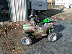 Converting 24v Grave Digger Power Wheels Into an Electric Go-kart With Rubber Tires : 11 Steps (with Pictures) - Instructables Brake Rotors, Brake Calipers, Grave Digger Power Wheels, Monster Truck Toys, Electric Go Kart, Steel Bar, Rubber Tires, Pictures, Simple Hairstyles