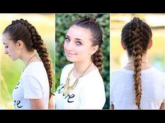 The Dragon Braid | Cute Girls Hairstyles - YouTube