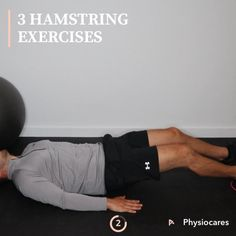Hamstring Exercises For Women, At Home Hamstring Workout, Knee Strengthening Exercises, Hamstring Muscles, Butt Workout, Exercises For Hamstrings, Quads And Hamstrings, Glutes, Muscle Fitness