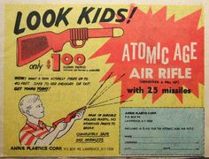 Ad from a 1960s comic