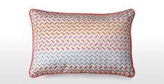 Sanremo Embroiderd Cushion 30 x 45cm Multicolour   made.com