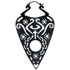 Wildcat  Ohrring  »Black Ouija«   Jetzt bei EMP kaufen   Mehr Gothic  Ohrringe  online verfügbar ✓ Unschlagbar günstig!