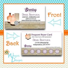 38 best scentsy marketing designs more images on pinterest facebook httpsfacebookweeziesdesigns scentsy business card reheart Image collections