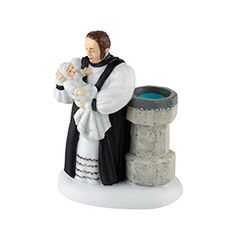 """Department 56: COLLECTING - """"The Baptism of Charles Dickens"""" - New Introductions"""