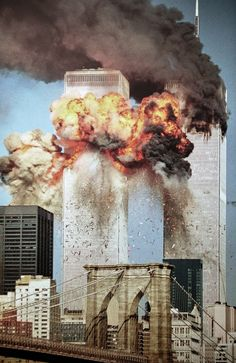 The twin towers on 911
