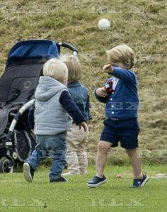 British Royals at Beaufort Polo Club, Gloucestershire, Britain - 14 Jun 2015  Prince George  14 Jun 2015
