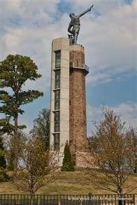 Vulcan overlooking Birmingham, Alabama