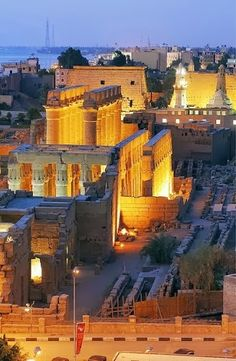 Great Temple of Luxor Egypt