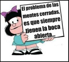 Mafalda siempre la clava.