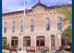 City Hall, Lapeer, Michigan - Formerly the fire hall.  I attended Girl Scout meetings on the second floor of this building as a young girl in the 1960's.