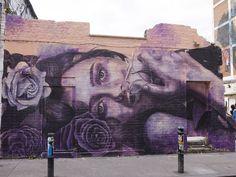 Rone, Hanbury Street, E1. | 26 Stunning Street Art Murals In East London