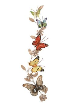 IF YOU WERE EVER TO COME INTO MY HOME YOU WOULD KNOW I LOVE BUTTERFLIES.  I ALSO HAVE SEVERAL FRIENDS WHO LOVE BUTTERFLIES.  THIS LOVELY BUTTERFLY MOTIF THAT IS NEARLY 3 FT LONG AND SO COLORFLY IS GOING NOT ONLY INTO MY HOME BUT INTO SEVERAL OF THEIRS.  I LOVE IT.  ANOTHER HAUTELOOK FIND AT $22.