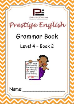 English Grammar Book  Level 4  Book 2This is the 11th book in the 15 book series of the Prestige English Grammar Series.Recommended for students who already have a basic grasp of English grammar.Please also download the 20 page FREE SAMPLE file of this booklet to preview its content and assess it suitability to your students level.Book Content:1.