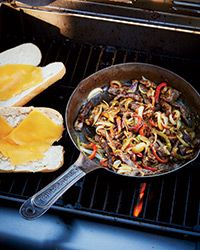 Grilled Philly Cheesesteaks Recipe on Food & Wine