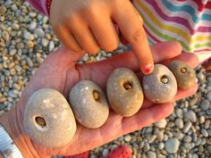 pebble within pebble, natural art Shape Collage, Hag Stones, Art Houses, Concrete Stone, Rock And Pebbles, Sticks And Stones, Beach Stones, Rock Crafts, Painted Stones
