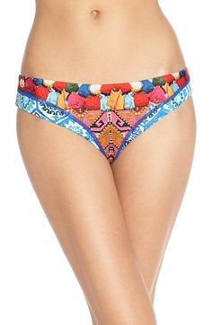 Maaji 'Tiles and Tassels' Reversible Chi Chi Bikini Bottom available at #Nordstrom