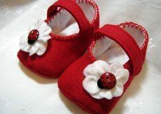 Lady bug shoes.   Seller: KATHYDEE