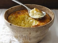 Gebackener Reispudding   http://eatsmarter.de/rezepte/gebackener-reispudding