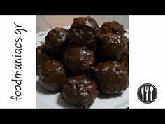 Τα σοκολατάκια με φουντούκι είναι τραγανά καθώς περιέχουν και γκοφρέτα, και συνιστούμε να φτιάξετε 2 και 3 δόσεις γιατί θα εξαφανιστούν ! Greek Desserts, Greek Recipes, Sweets Cake, Candy Recipes, Deserts, Frozen, Food And Drink, Menu, Cooking Recipes