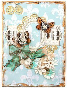 Scrap Escape: Butterfly Canvas For the Flying Unicorns