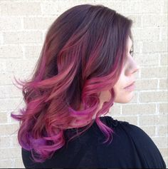 Colorful Color Melt by Kaitlyn Sterk at Cutting Edge Hair in Carrollton, Tx. Redken Color Certified Redken Club 5th Ave. Elite Salon www.cuttingedgehair.com/stylists/kaitlyn-sterk Mermaid hair Ombre Sombre Pravana Vivids Suicide Girls Pink purple coral hair rainbow hair unicorn hair Hair Heisenberg