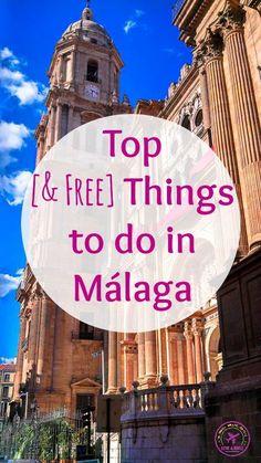 De leukste (gratis) dingen om te doen in Malaga, Spanje!
