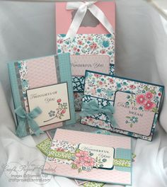 Twitterpated card set with tote by needmorestamps - Cards and Paper Crafts at Splitcoaststampers
