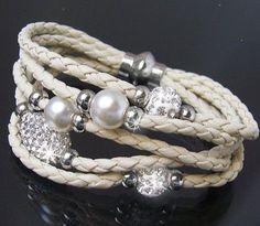 Multielement Color Beads Fashion Bracelets