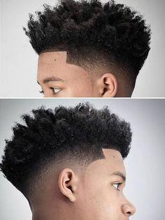Hairstyles For Medium Length Hair Men Boys Haircuts 54 Trendy Ideas Black Men Haircuts, Black Men Hairstyles, African Hairstyles, Hairstyles Haircuts, Trendy Hairstyles, Black Hairstyle, Black Hair Cuts, Curly Hair Cuts, Curly Hair Styles