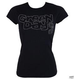 Damen Metal T-Shirt Green Day - Flower Pot - ROCK OFF