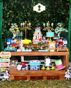Encontrando Ideias: Festa Alice!!!