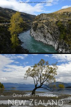 Detailed one month itinerary in New Zealand including both North Island and South Island