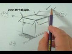 How To Draw with Mark Kistler: Flowers in a 3-D Box!