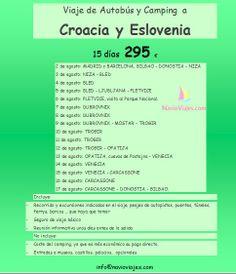 Croacia y Eslovenia 15 días por 295 € !!!!!