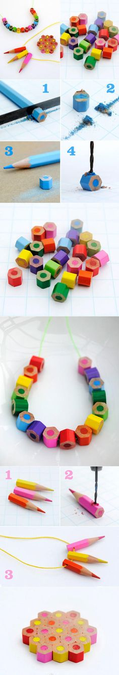 Colored Pencil Jewelry Tutorial