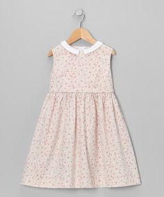 Take a look at this Pink Floral Dress - Toddler & Girls by Love, Auntie on #zulily today!