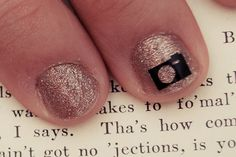 Camera nail art nail sticker decal by KwickCuts on Etsy, $3.00