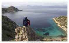 The meeting point of the two seas: The Med. and the Aegean.