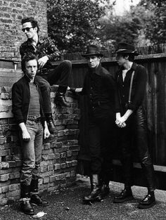 The Clash photographed by Pennie Smith